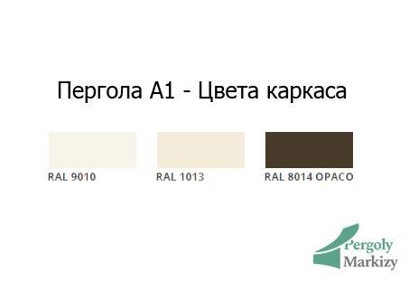 Пергола алюминиевая KE ITALY A1