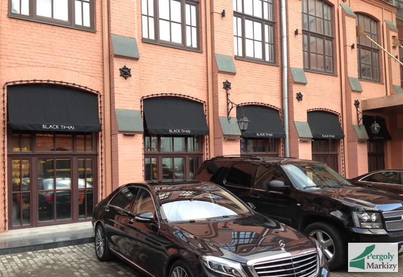 Ресторан с фасадными навесами BAT