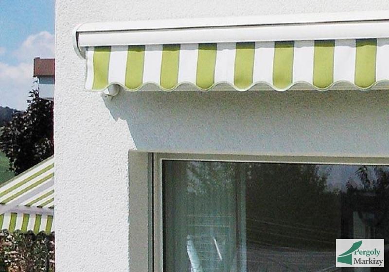 боковые маркизы над окном