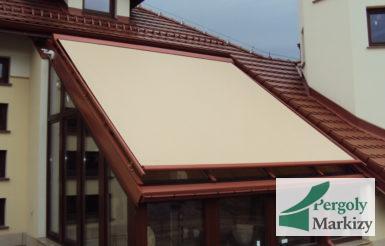 Маркиза для зимнего сада и стеклянных крыш