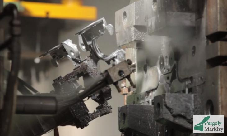 Производство деталей металлического каркаса маркизы